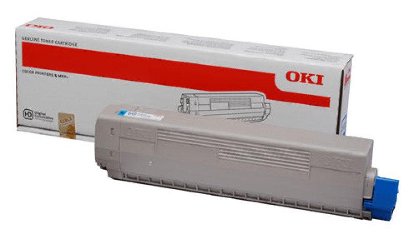 OKI C822 Cyan Toner Cartridge