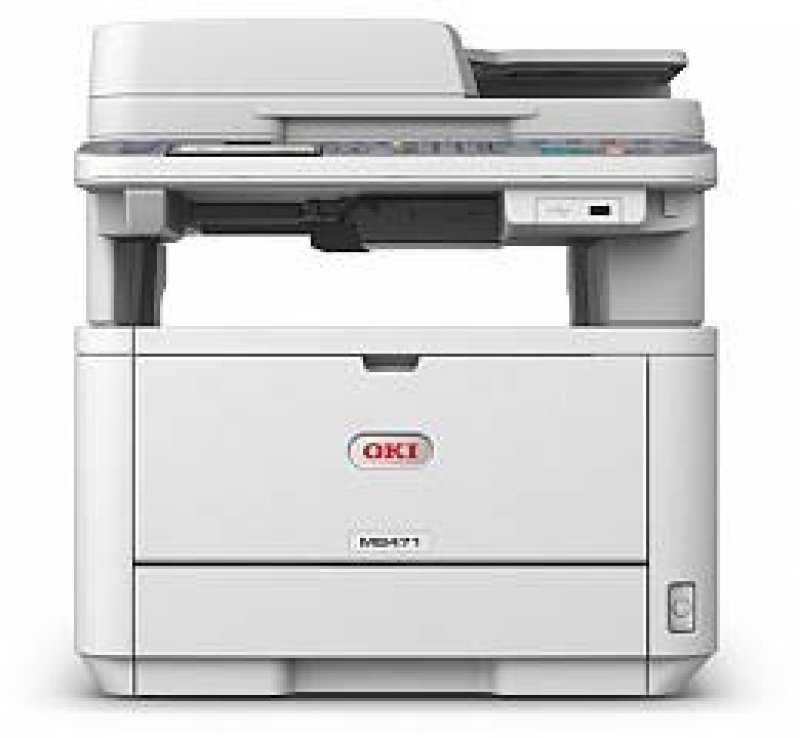 OKI MB472dnw A4 Multi-Function Wireless Mono Laser Printer