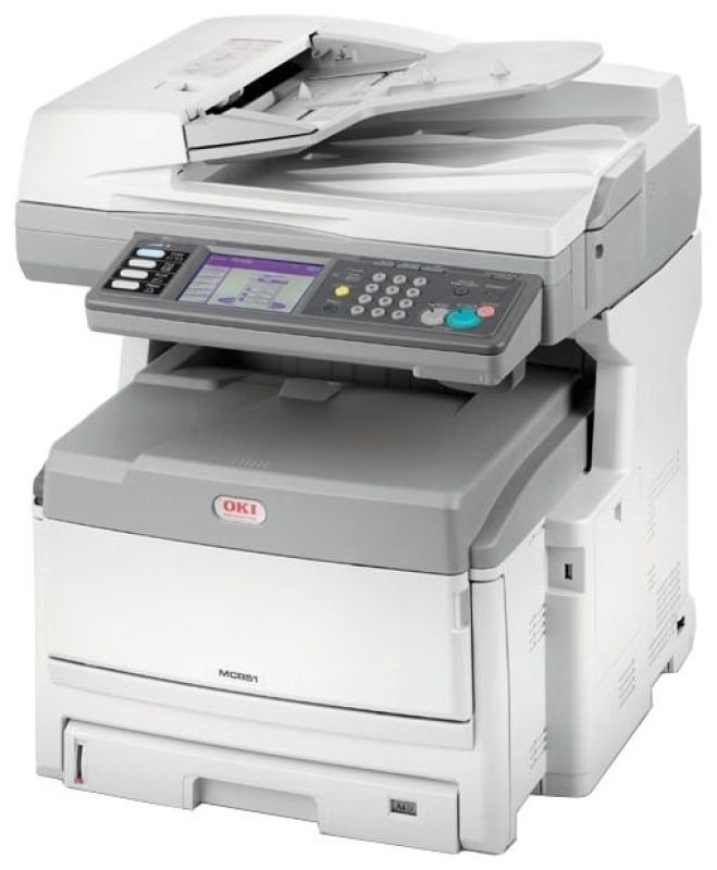 Oki MC851dn A3 Colour Multi Function Printer
