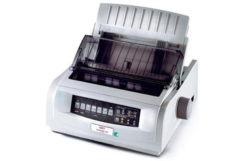 Oki Microline Ml5591eco 24-pin Dot Matrix Printer