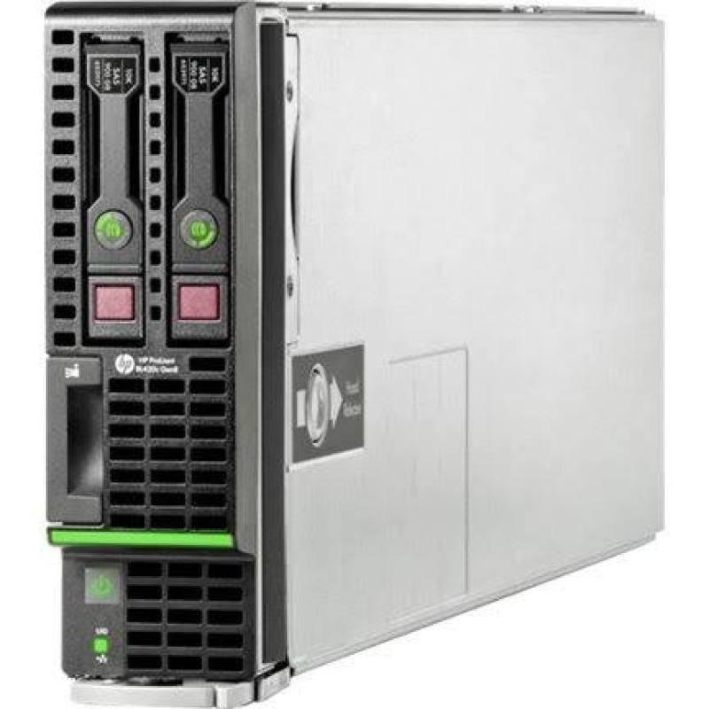 HPE ProLiant BL420c Gen8 E5-2450 2.1GHz 8-core 2P 24GB-R 1600 P220i SFF Server