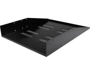 Startech 2U Vented Rack Mount Cantilever 2 Post Shelf Mid/center Mount Sever Rack Cabinet Shelf (68kg)