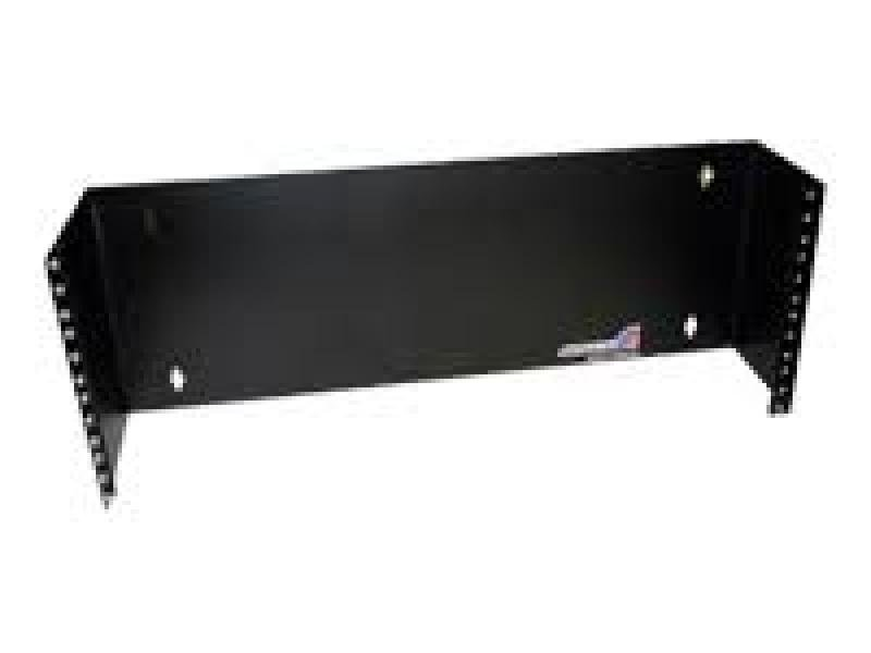 Startech 4U 19 Inch Hinged Wall Mounting Bracket For Patch Panels (black)