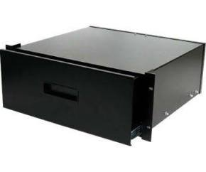 Startech 4U Black Steel Storage Drawer For 19 Inch Racks And Cabinets