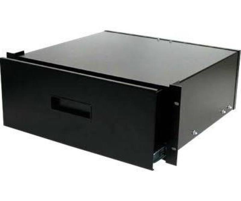 Startech 4U Black Steel Storage Drawer For 19 Inch Racks And Cabinets