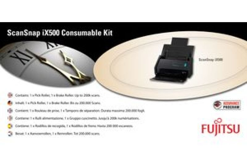 Fujitsu Consumable Kit for ScanSnap iX500 Deluxe