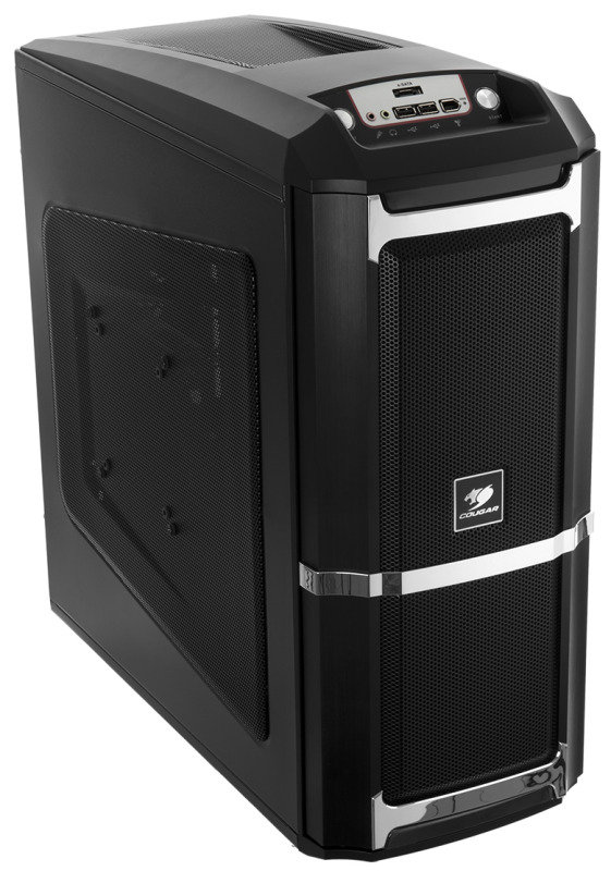 Image of 6XR9 Computer Mid tower ATX Gaming Case Black