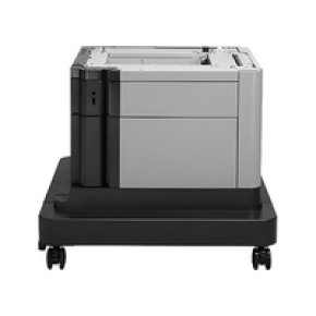 HP LaserJet 1x500-sheet Paper Feeder and Cabinet