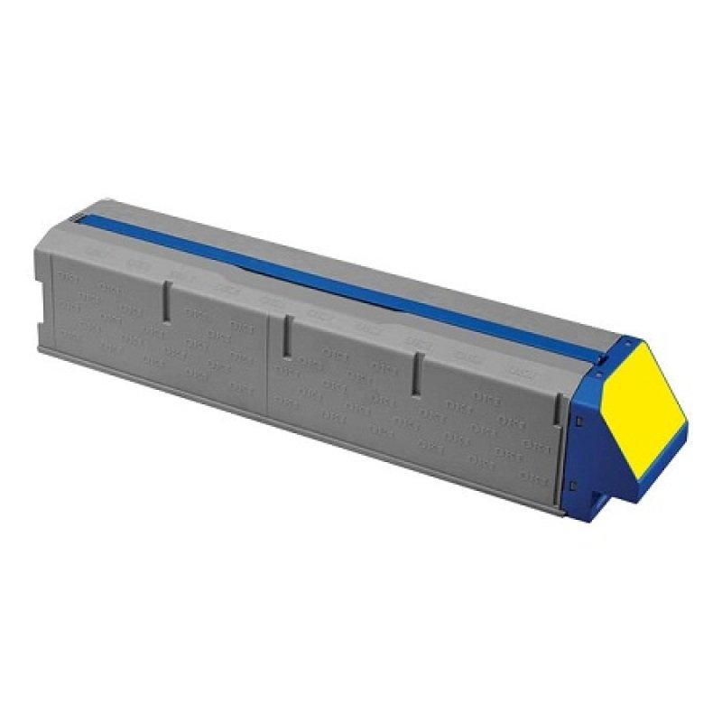 Oki Yellow Toner Cartridge Standard Yield
