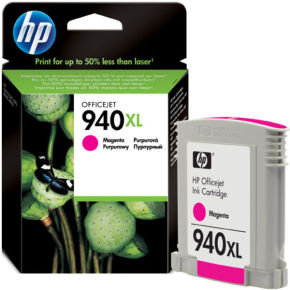 HP 940XL Magenta Ink Cartridge - C4908AE