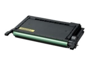 Samsung CLP-Y600A Yellow Laser Toner Cartridge 4000 Pages