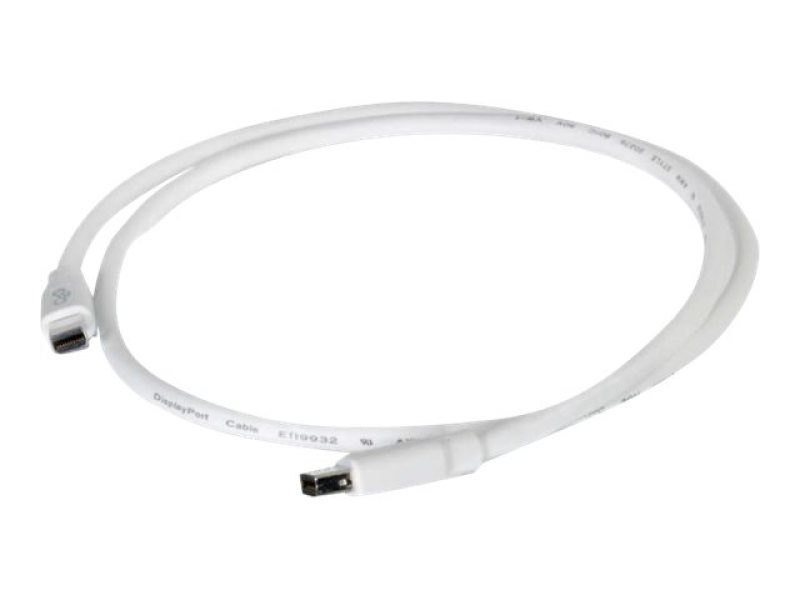 C2G 3m Mini DisplayPort Cable M/M - White