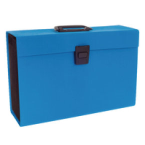 Rexel Joy Expanding Box File Blue