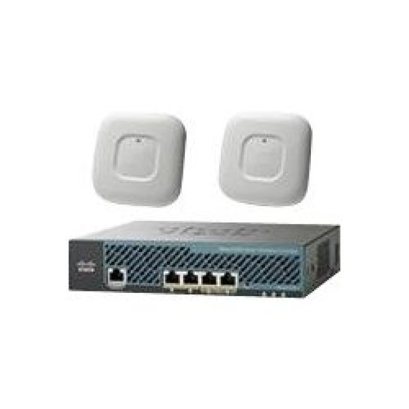 Image of Cisco Mobility Express AP1700i-E Access Point and 2504 Wireless Controller With 25 Licenses Included