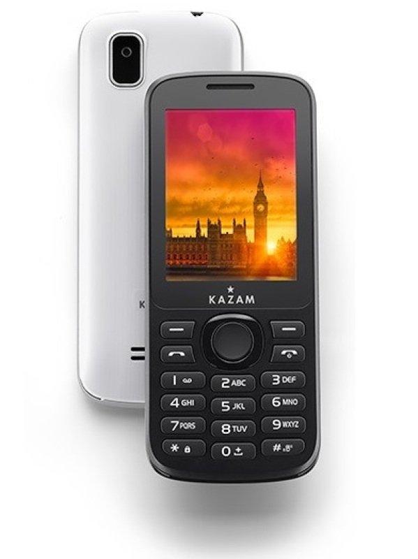 "Image of KAZAM Life B5 Phone, Single SIM Free, Black, 2.4"" Display"