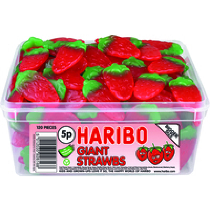 Image of Haribo Giant Strawbs Drum