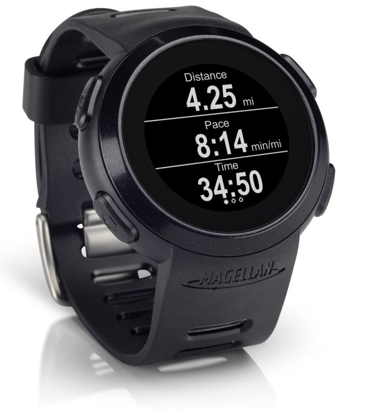 Image of MAG ECHO SMART RUNNING WATCH (BLACK)