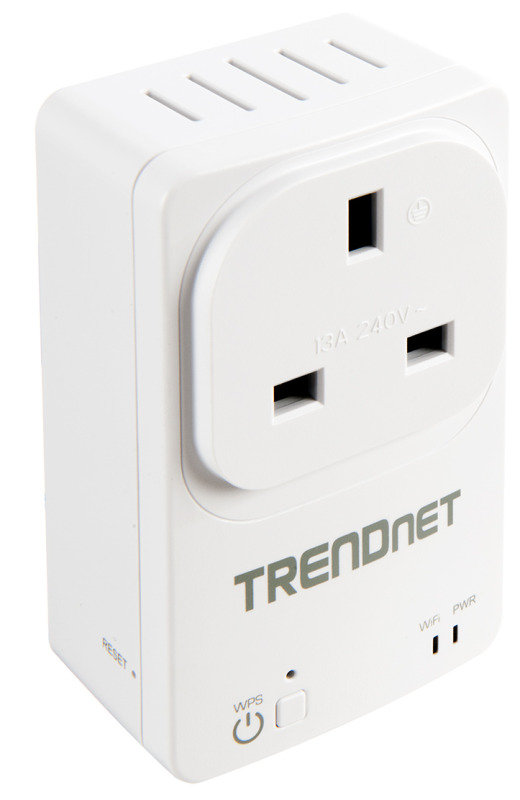 Image of TRENDnet THA-101 - Home Smart Switch with built in Wireless Range Extender