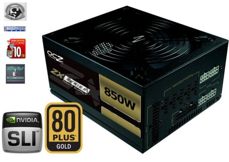 OCZ ZX Series 850W 80+ GOLD PSU Fully Modular PSU
