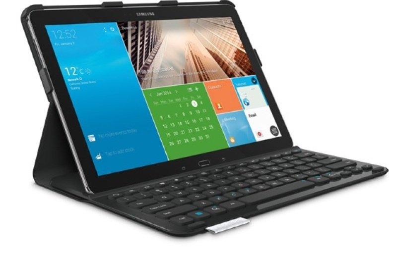 Logitech PRO Protective Case with full-size keyboard For Samsung Galaxy NotePRO 12.2 and Samsung Galaxy TabPRO 12.2