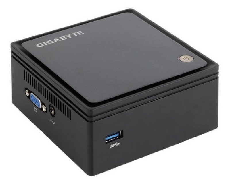 Image of Gigabyte BRIX CB-BXBT-2807-500G4GB Fully Integrated Mini PC, Intel Celeron Processor N2807, 4GB RAM, 500GB HDD, No ODD, Intel HD, WiFi, Bluetooth, 5 Year Manufacturer Warranty, Windows 10 64bit