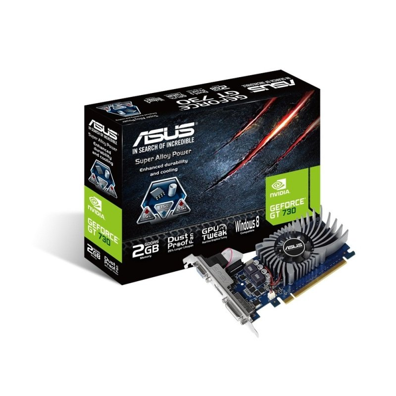 Asus GeForce GT 730 2GB GDDR5 Graphics Card