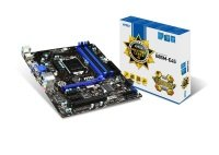 MSI B85M-E45 Socket LGA 1150 DVI HDMI 7.1-Channel HD Audio Micro-ATX Motherboard
