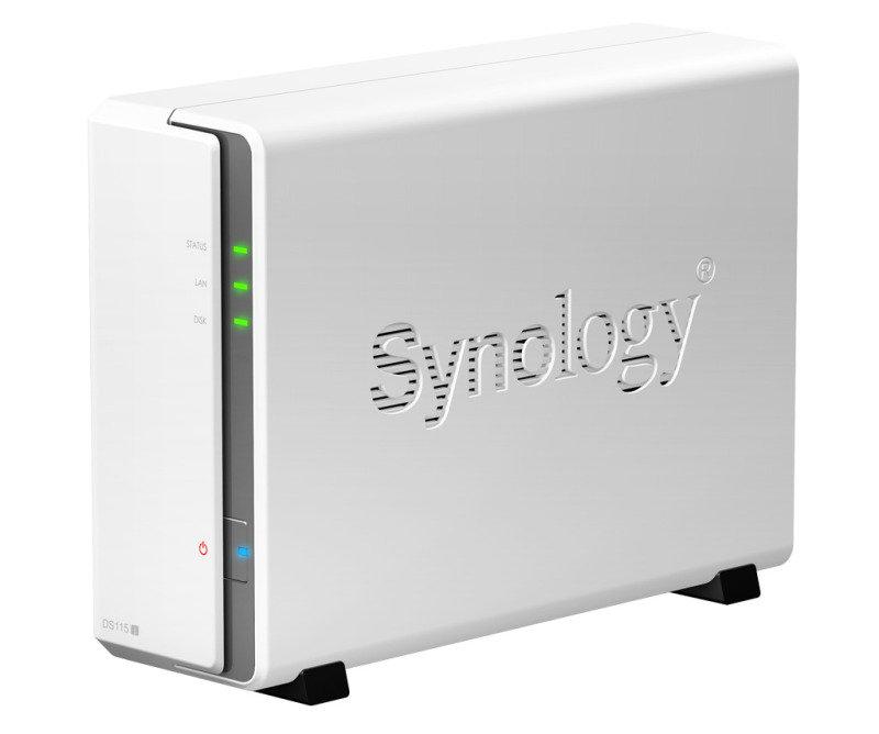 Synology DiskStation DS115j 1bay (no disk) NAS Enclosure