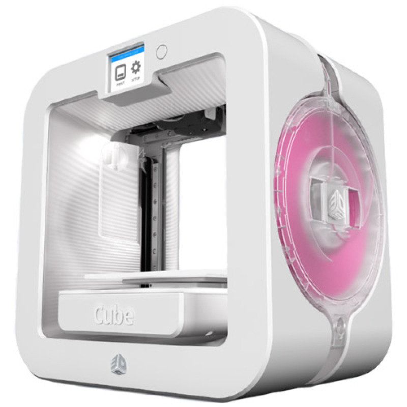 3DSystems Cube 3D Printer Gen3 WHITE