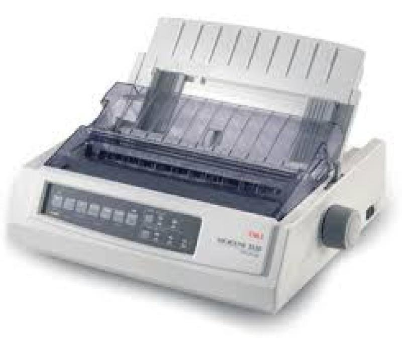 Oki Microline Ml3410 9-pin Dot Matrix Printer - 136 Column