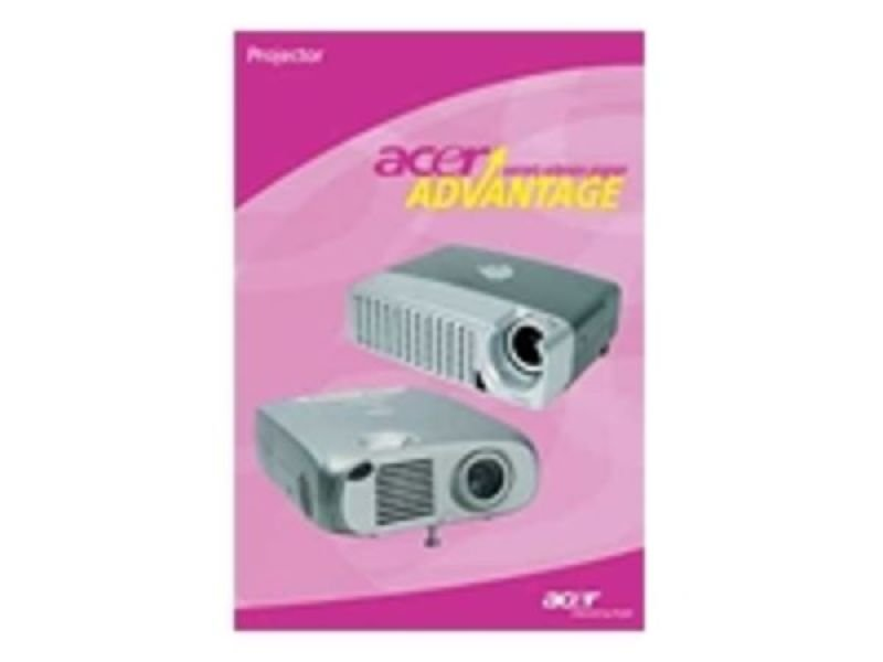 Acer Warranty - 3yr Next Business Day Onsite Cover for PD1 Projectors