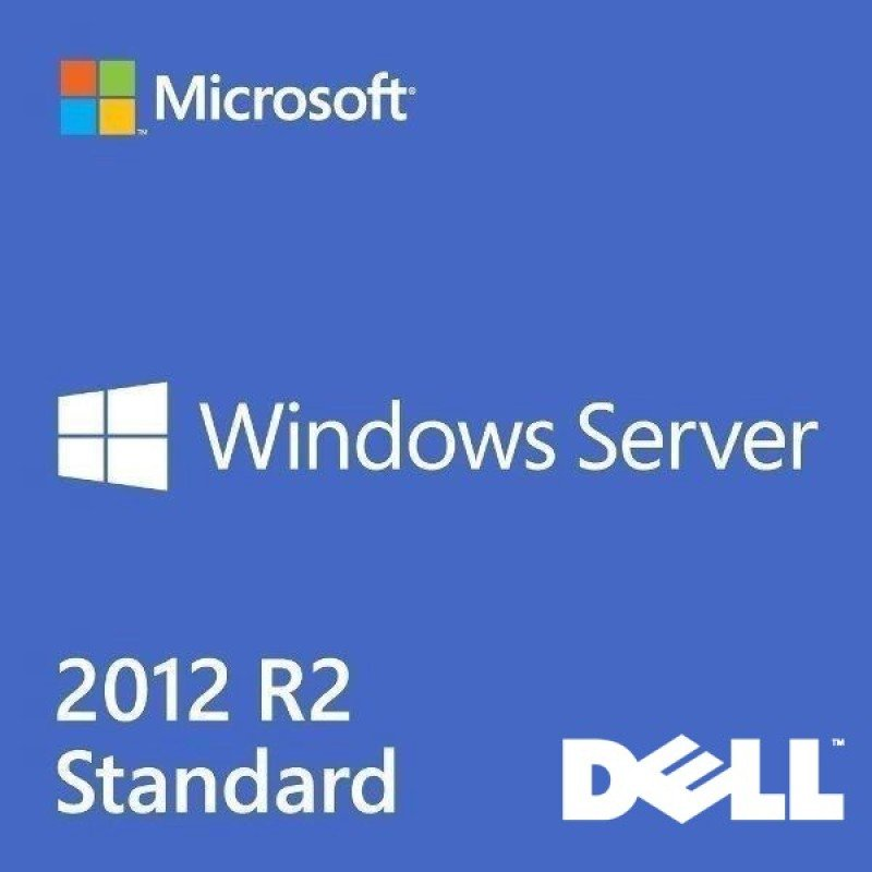 Windows Server 2012 R2 - Standard Edition (Dell ROK)