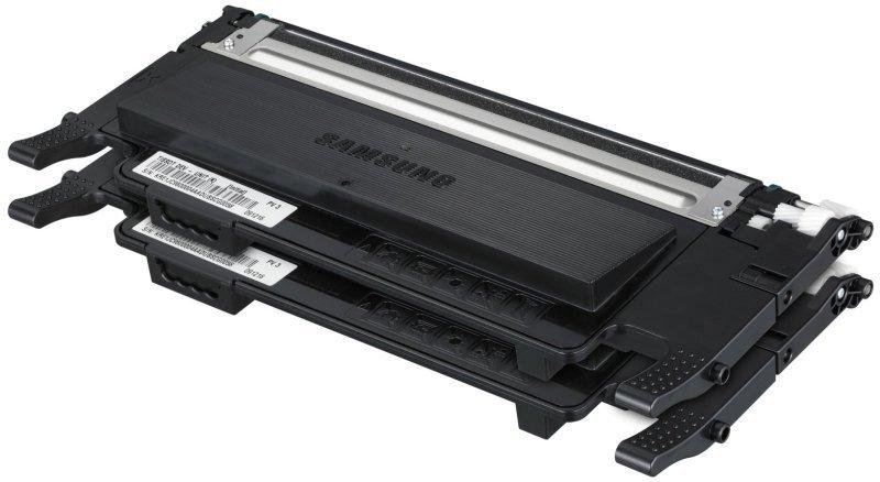 Samsung CLTP4072B Twin Pack Black Toner Cartridges  2x 1500 Pages