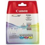 Canon CLI-521 Colour MultiPack Ink Cartridge