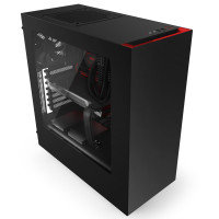 NZXT Source 340 Midi-Tower Case - Red