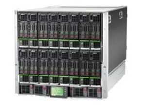 HPE BLc7000 Platinum Enclosure w/ 1 Phase 2 Power Supplies 4 Fans ROHS Trial Insight Control License