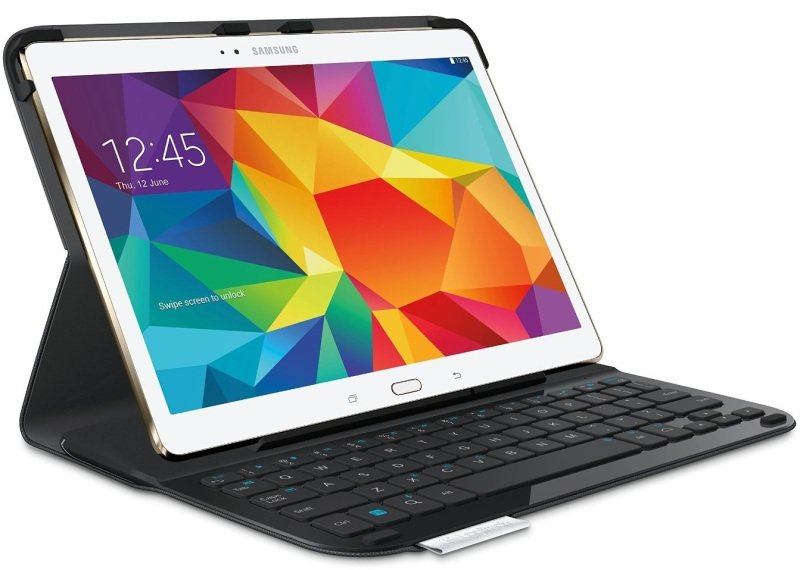 Logitech Type-S Thin and light protective keyboard case for Samsung Galaxy Tab S 10.5