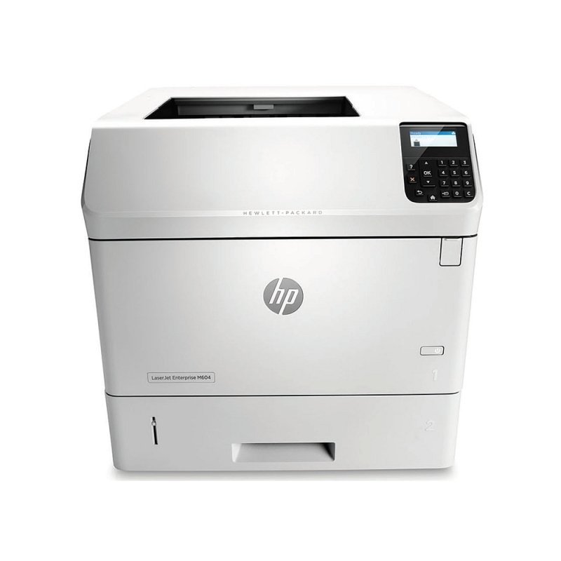 HP M604n LaserJet Enterprise Mono Laser Printer