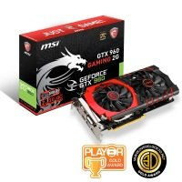 MSI GTX 960 Gaming 2G OC Edition 2GB GDDR5 Dual-Link DVI-I HDMI DisplayPort Graphics Card