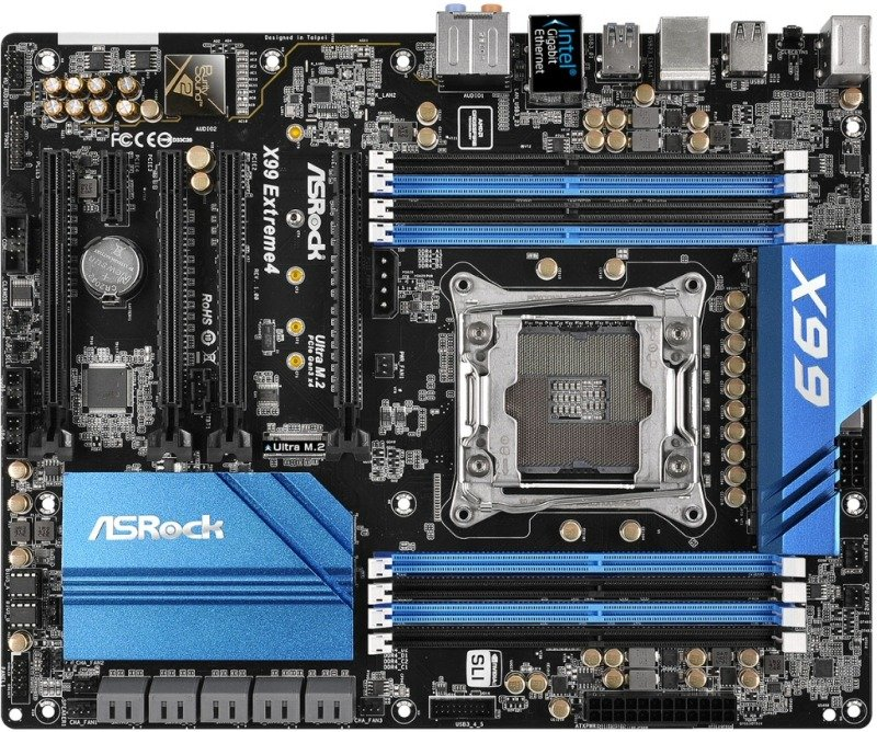 ASRock X99 Extreme4 Socket 2011-3 7.1 CH HD Audio ATX motherboard