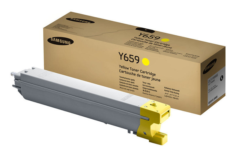 Samsung CLT-Y659S Yellow Toner Cartridge