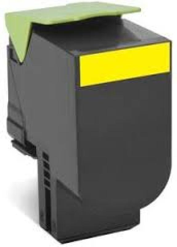 Lexmark 802XYE Yellow High Yield Toner Cartridge