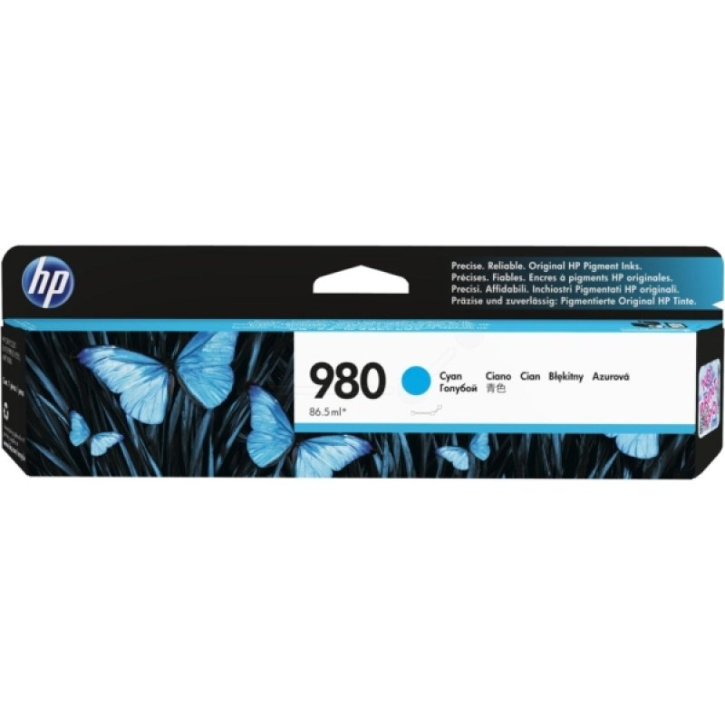 HP 980 Cyan Inkjet Cartridge - D8J07A
