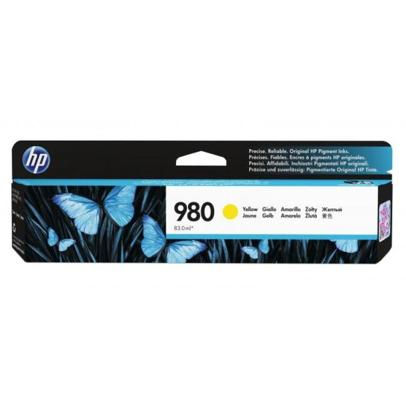 HP 980 Yellow Ink Cartridge - D8J09A