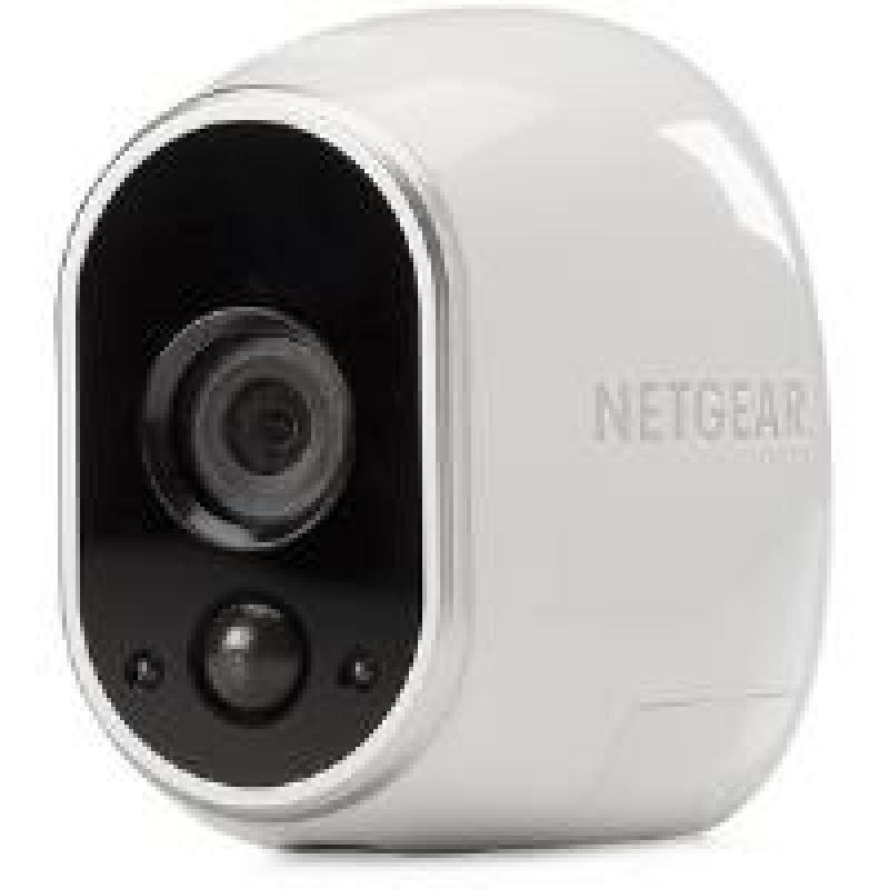 Image of Arlo HD Smart Home Security Cameras   Wire-Free   Night Vision   Indoor/Outdoor   HD   Free Cloud Storage Included   Add on camera - basestation needed   VMC3030