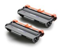 Brother TN-3380 Black Toner Cartridge - Twin Pack