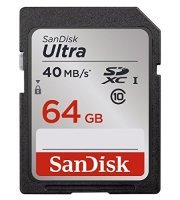 Sandisk Ultra 64GB SDXC UHS-1 SD Memory Card