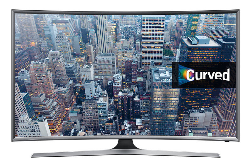 "Image of Samsung UE55J6300 55"" Full HD Curved Smart TV"