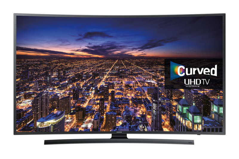 "Image of Samsung UE40JU6500 40"" UHD 4K Smart Curved LED TV"