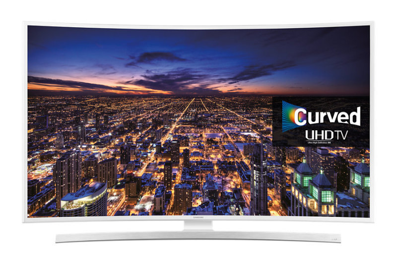 Samsung UE55JU6510 55&quot UHD 4K Smart Curved LED TV White
